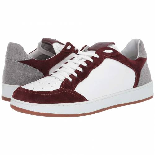 ELEVENTY レザー スエード スウェード スニーカー 【 ELEVENTY LEATHER SNEAKER WITH SUEDE CONTRAST BORDEAUX 】 メンズ スニーカー
