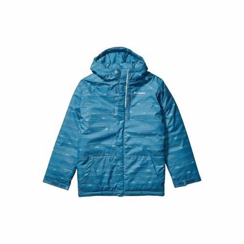 コロンビアキッズ COLUMBIA KIDS 青 ブルー ストライプ LIFT・・ 【 BLUE STRIPE COLUMBIA KIDS LIGHTNING JACKET LITTLE BIG HERON PRINT 】 キッズ ベビー マタニティ コート