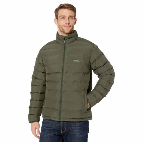 MARMOT 緑 グリーン 【 GREEN MARMOT ALASSIAN FEATHERLESS JACKET ROSIN 】 メンズファッション コート ジャケット