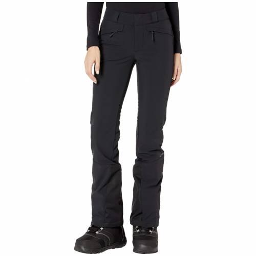 SPYDER 黒 ブラック 【 BLACK SPYDER ORB SOFTSHELL PANTS 】 レディースファッション ボトムス パンツ