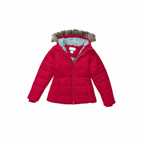 コロンビアキッズ COLUMBIA KIDS 【 COLUMBIA KIDS KATELYN CREST JACKET TODDLER POMEGRANATE SPRAY 】 キッズ ベビー マタニティ コート
