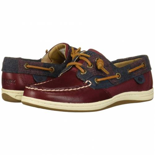 SPERRY 【 SPERRY SONGFISH VARSITY WOOL WINE 】