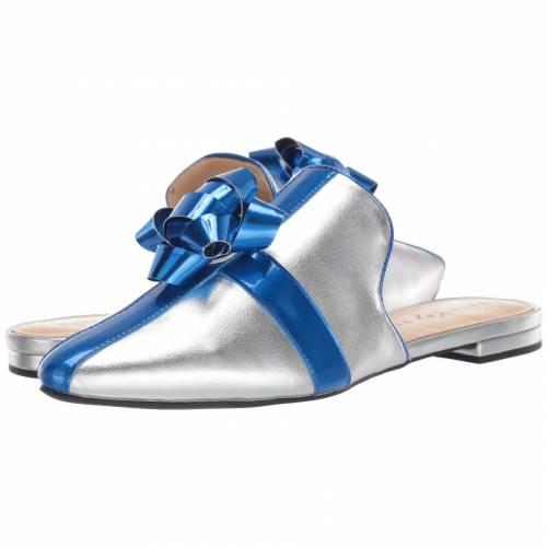 KATY PERRY 青 ブルー 銀色 シルバー 【 BLUE SILVER KATY PERRY THE STEPHANIE METALLIC 】
