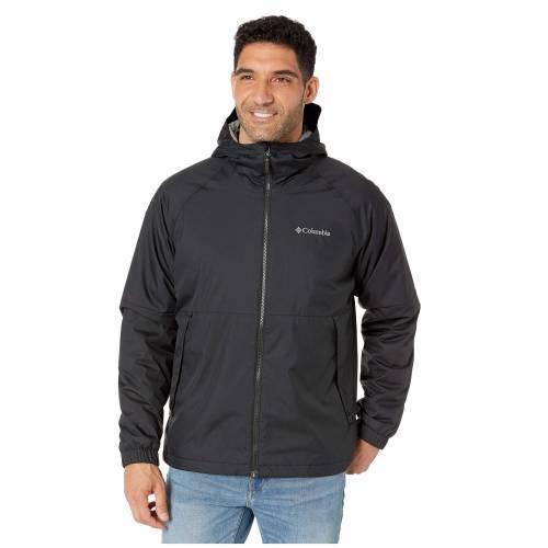 コロンビア COLUMBIA 黒 ブラック HEIGHTS・・ 【 BLACK COLUMBIA HELVETIA JACKET 1 】 メンズファッション コート ジャケット