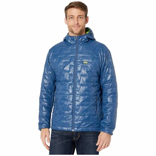 HELLY HANSEN ノース 青 ブルー 【 BLUE HELLY HANSEN LIFALOFT HOODED INSULATOR JACKET NORTH SEA 】 メンズファッション コート ジャケット
