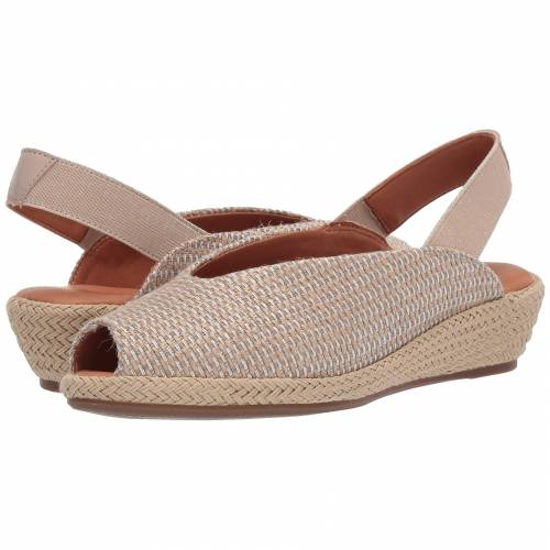 GENTLE SOULS BY KENNETH COLE ナチュラル 銀色 シルバー 【 SILVER GENTLE SOULS BY KENNETH COLE LUCI SLINGBACK NATURAL FABRIC 】