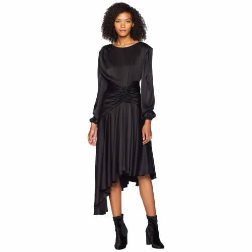 PREEN BY THORNTON BREGAZZI ドレス 黒 ブラック 【 BLACK PREEN BY THORNTON BREGAZZI AMBER DRESS 】 レディースファッション ドレス