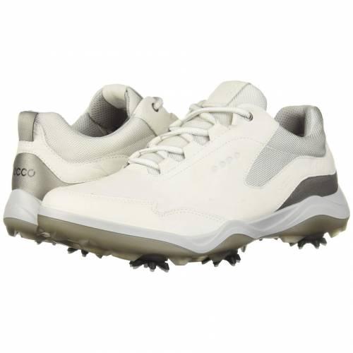 エコーゴルフ ECCO GOLF ゴルフ ストライク 白 ホワイト GORETEX スニーカー 【 GOLF WHITE ECCO STRIKE 】 メンズ スニーカー