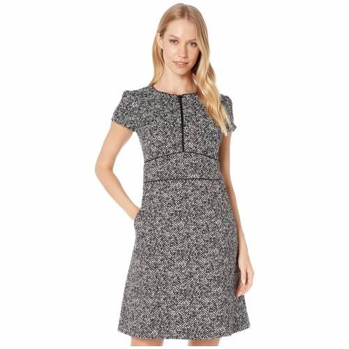 NANETTE LEPORE ドレス 黒 ブラック 【 BLACK NANETTE LEPORE HERRINGBONE DRESS 】 レディースファッション ドレス