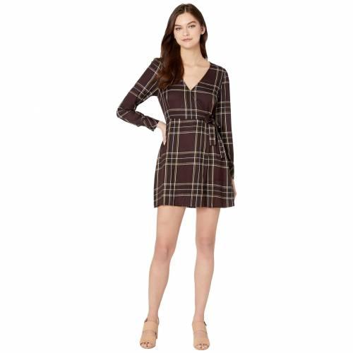 SANCTUARY ラップ ドレス 【 WRAP SANCTUARY UPBEAT DRESS NEW ROMANTIC PLAID 】 レディースファッション ドレス