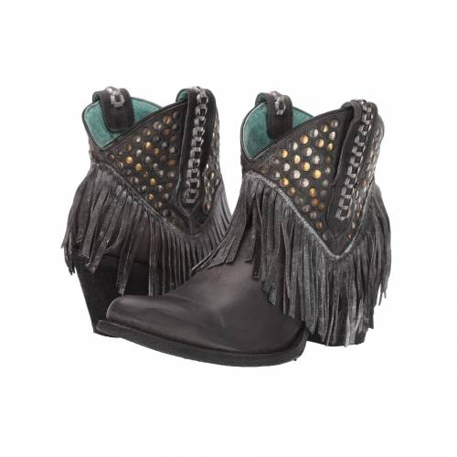 CORRAL BOOTS 黒 ブラック 【 BLACK CORRAL BOOTS E1435 】