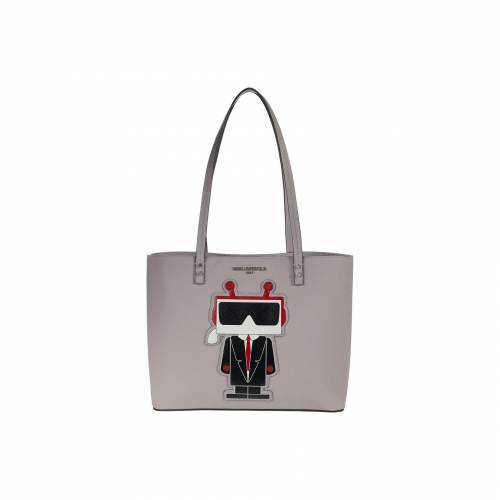 KARL LAGERFELD PARIS 【 KARL LAGERFELD PARIS MAYBELLE TOTE STORM CLOUD 】 バッグ