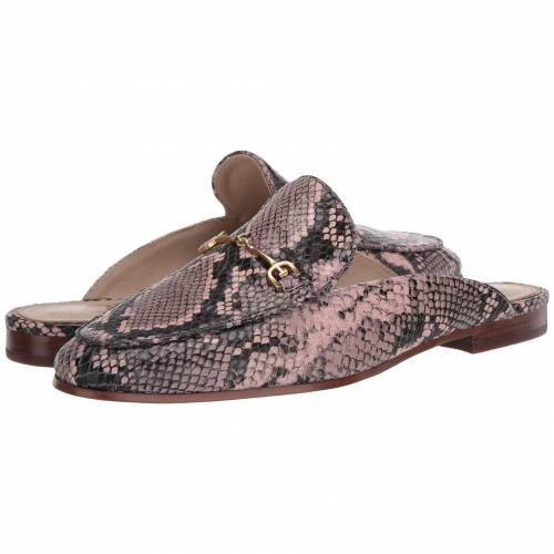 SAM EDELMAN ピンク レザー 【 PINK SAM EDELMAN LINNIE DECO EXOTIC SNAKE PRINT LEATHER 】