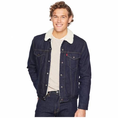 LEVI'S MENS メンズ トラッカー LEVI'S 【 MENS TYPE III SHERPA TRUCKER JACKET JUNIPER RINSE 】 メンズファッション コート ジャケット