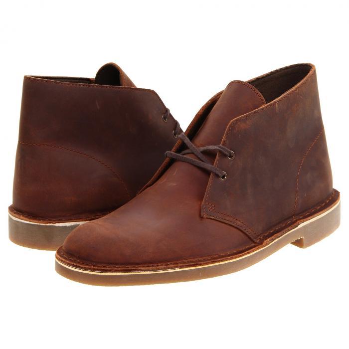 クラークス CLARKS メンズ ブーツ 【 Bushacre 2 】 Brown Leather