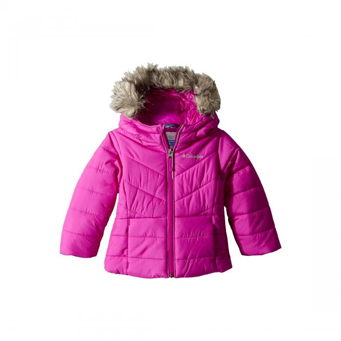 Toddler Columbia Kids Baby Girls Katelyn Crest Jacket Bright Plum 2 2T Toddler