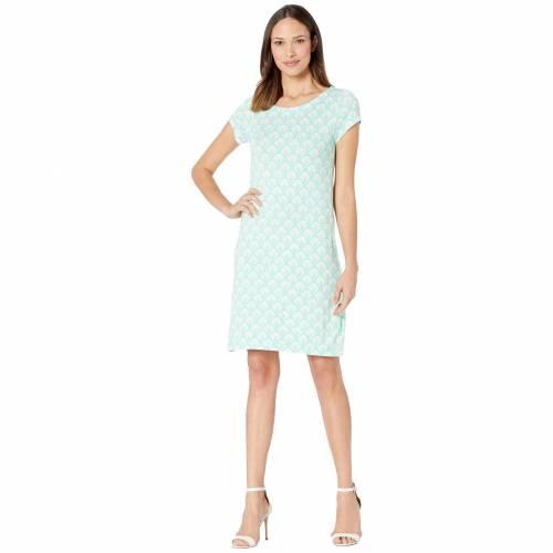 HATLEY ドレス 青 ブルー 【 BLUE HATLEY NELLIE DRESS SCALLOPS 】 レディースファッション ワンピース