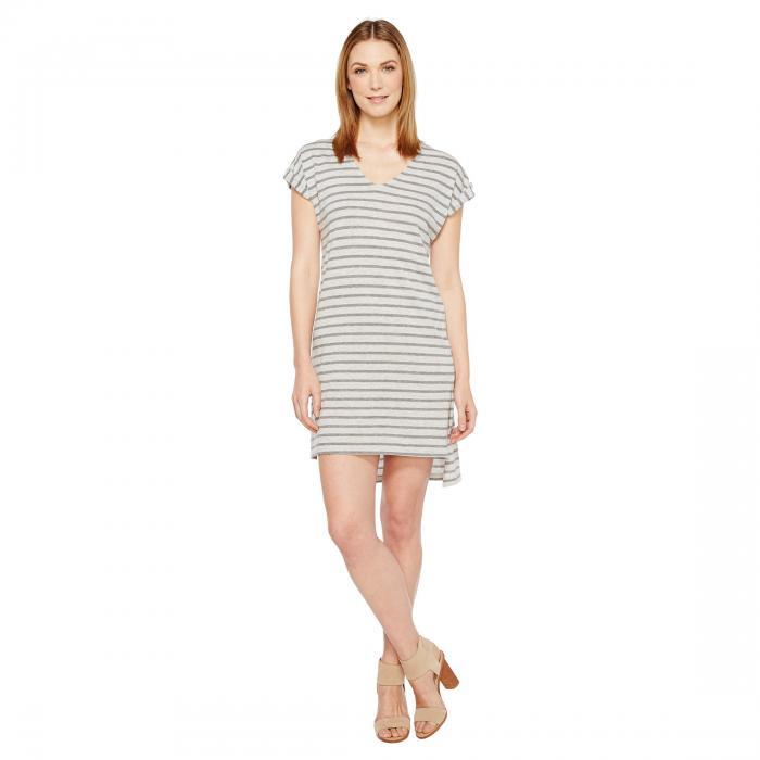 オルタナティブ ALTERNATIVE ジャージ ストライプ ドレス レディースファッション ワンピース レディース 【 Jersey Yarn Dye Stripe Escapade Dress 】 Eco Grey Riviera Stripe