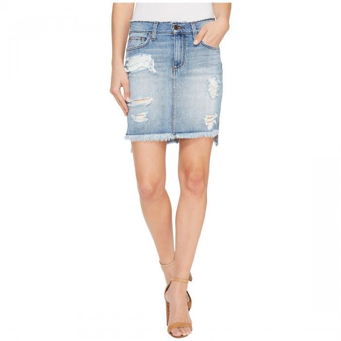 【海外限定】スカート レディースファッション 【 HIGHLOW PENCIL SKIRT IN TYRIE 】