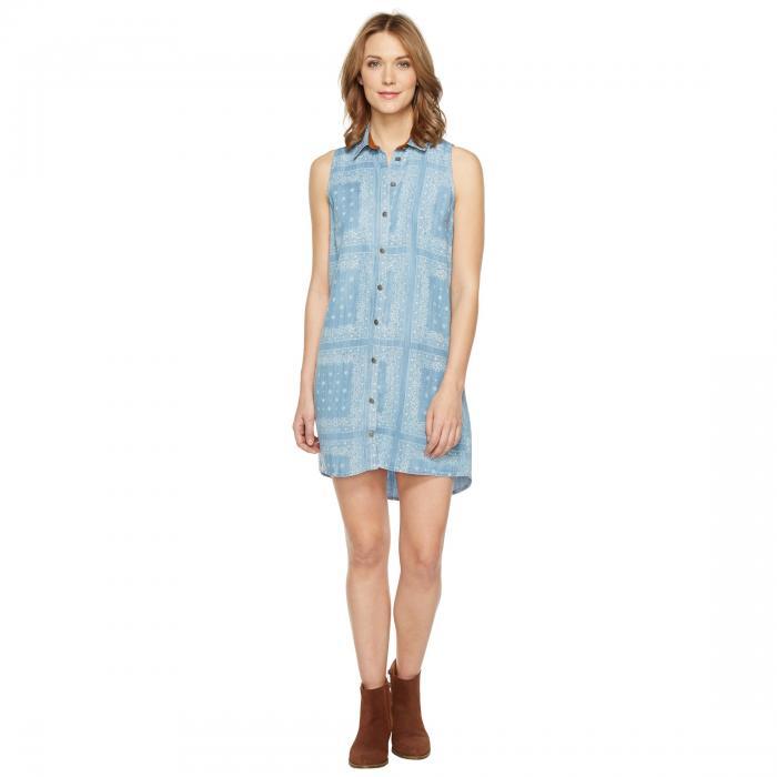 TASHA POLIZZI ドレス レディースファッション ワンピース レディース 【 Berkeley Dress 】 Washed Denim