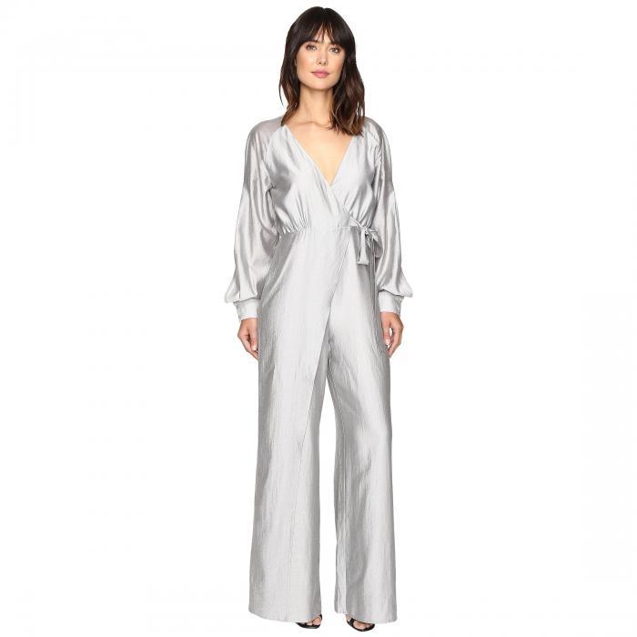 STYLESTALKER レディースファッション オールインワン サロペット レディース 【 Rosetta Jumpsuit 】 Silver Stripe