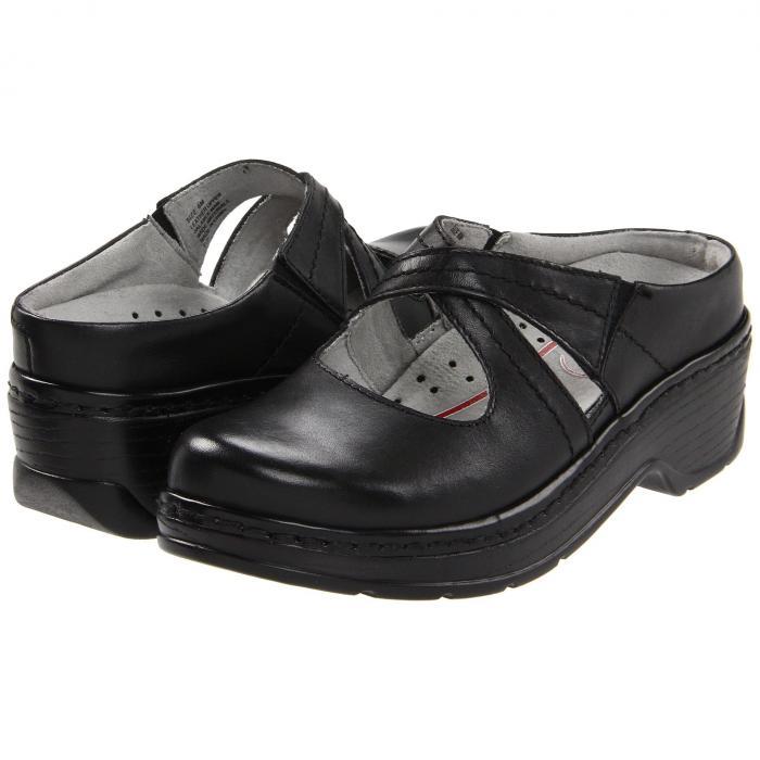 KLOGS FOOTWEAR 黒 ブラック スムース 【 BLACK KLOGS FOOTWEAR CARA SMOOTH 】