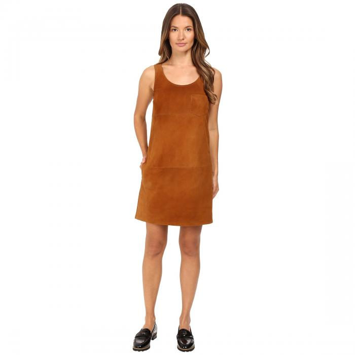 【海外限定】ブイネック スエード スウェード ドレス レディースファッション ワンピース 【 VNECK SUEDE DRESS 】【送料無料】