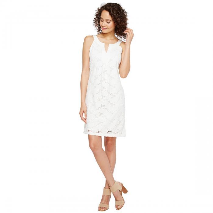 【海外限定】ショーツ ハーフパンツ ドレス ワンピース レディースファッション 【 EYELET SHORT SHIFT DRESS 】【送料無料】