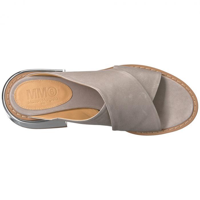 【海外限定】サンダル レディース靴 【 METALLIC WIDE HEEL MULE 】