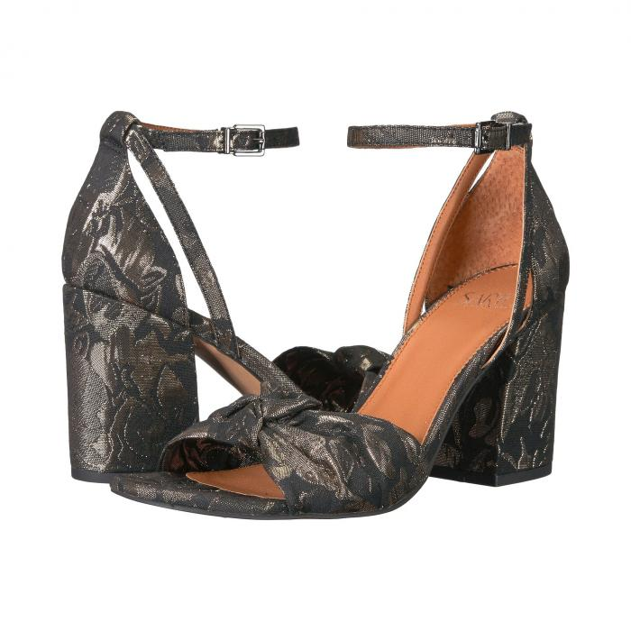 FRANCO SARTO 【 EDANA BLACK METALLIC FLORAL BROCADE 】 送料無料