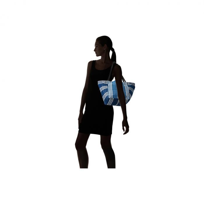 【海外限定】ジェームズ 藍色 インディゴ 小物 レディースバッグ 【 ELIZABETH AND JAMES INDIGO PATCHWORK FORTUNE TOTE 】