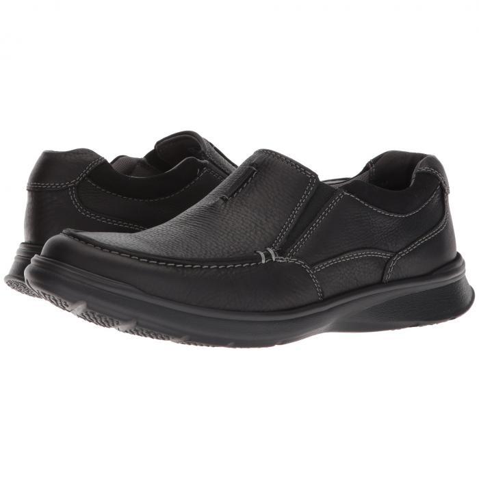 【スーパーセール商品 12/4-12/11】クラークス CLARKS 【 COTRELL FREE BLACK OILY LEATHER 】 メンズ ローファー 送料無料