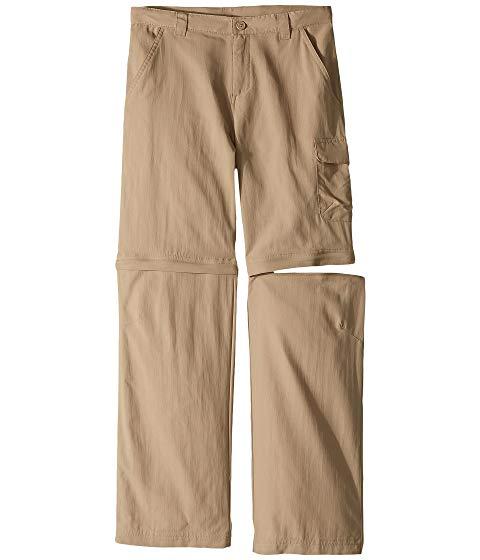 コロンビアキッズ COLUMBIA KIDS 銀色 シルバー パンツ Ridge・・ キッズ ベビー マタニティ ボトムス ジュニア 【 Silver Ridge・・ Iii Convertible Pant (little Kids/big Kids) 】 British Tan