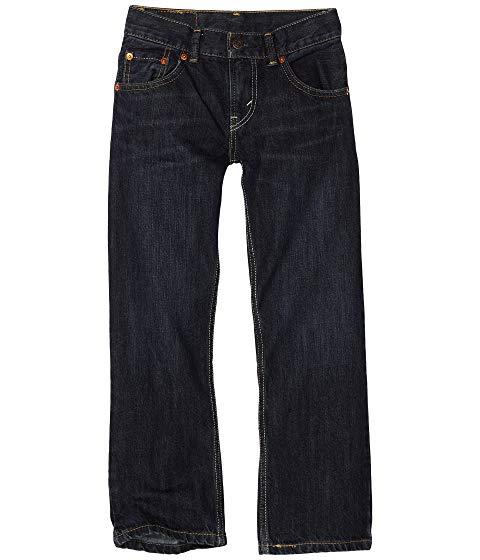 LEVI'S・・ KIDS 505・・ キッズ ベビー マタニティ ボトムス ジュニア 【 505・・ Regular Jeans (big Kids) 】 Midnight