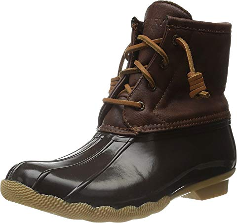 SPERRY KIDS ブーツ 茶 ブラウン 【 BROWN SPERRY KIDS SALTWATER BOOT LITTLE KID BIG 】 キッズ ベビー マタニティ