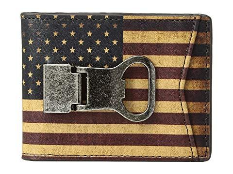 【海外限定】ビンテージ ヴィンテージ ウォレット 財布 小物 ケース 【 VINTAGE WALLET USA FLAG MONEY CLIP 】