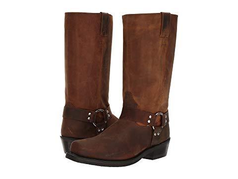 【★スーパーセール中★ 6/11深夜2時迄】OLD WEST BOOTS ブーツ メンズ 【 Harness Boot 】 Brown Distressed