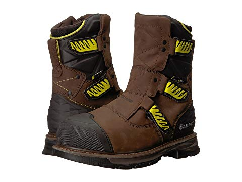 "【NeaYearSALE1/1-1/5】アリアト ARIAT 銀色 スチール 8"" 【 CATALYST VX WORK MET GUARD H2O STEEL TOE DISTRESSED BROWN 】 メンズ ブーツ 送料無料"