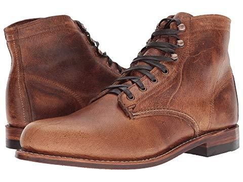 "【NeaYearSALE1/1-1/5】WOLVERINE HERITAGE 6"" 【 ORIGINAL 1000 MILE BOOT COGNAC 】 メンズ ブーツ 送料無料"