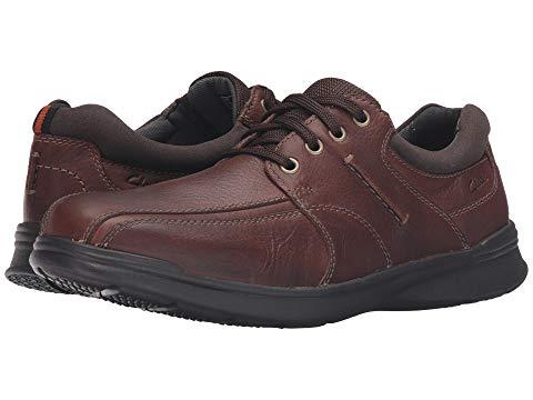 クラークス CLARKS ウォーク スニーカー メンズ 【 Cotrell Walk 】 Tobacco Oily Leather