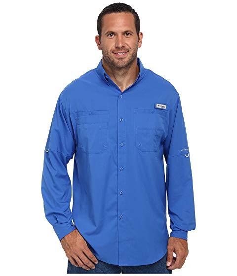 【スーパーセール中! 6/11深夜2時迄】コロンビア COLUMBIA 長袖 ロングスリーブ Tamiami? メンズファッション トップス Tシャツ カットソー メンズ 【 Big And Tall Tamiami? Ii L/s 】 Vivid Blue