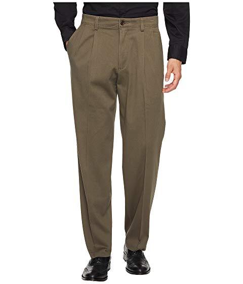 ドッカーズ DOCKERS カーキ クラシック 【 DOCKERS EASY KHAKI D3 CLASSIC FIT PLEATED PANTS DARK PEBBLE 】 メンズファッション ズボン パンツ