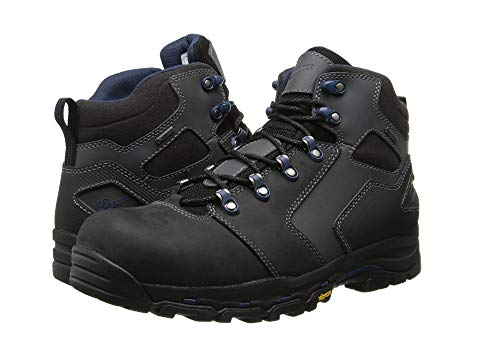 "ダナー DANNER 4.5"" メンズ ブーツ 【 Vicious 4.5"" Non-metallic Safety Toe 】 Black/blue"
