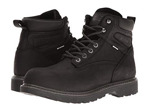 【★スーパーセール中★ 6/11深夜2時迄】WOLVERINE メンズ ブーツ 【 Floorhand Soft Toe 】 Black