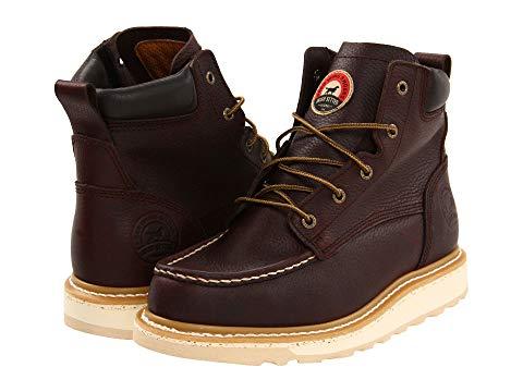"""【★スーパーセール中★ 6/11深夜2時迄】IRISH SETTER 6"""" メンズ ブーツ 【 83605 6"""" Wedge 】 Brown"""