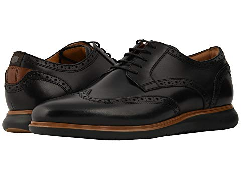 FLORSHEIM スニーカー 【 FUEL WING TIP OXFORD BLACK SOLE 】 メンズ 送料無料