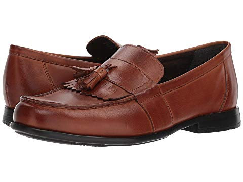 NUNN BUSH スリッポン スニーカー メンズ 【 Denzel Moc Toe Kiltie Tassel Slip-on Kore Walking Comfort Technology 】 Cognac