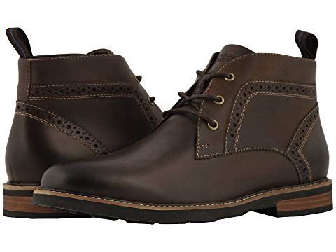 【★スーパーセール中★ 6/11深夜2時迄】NUNN BUSH チャッカ ブーツ スニーカー メンズ 【 Ozark Plain Toe Chukka Boot With Kore Walking Comfort Technology 】 Brown Ch