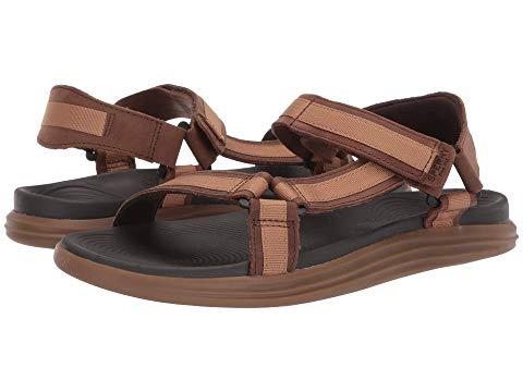SPERRY スニーカー メンズ 【 Regatta 2-strap Sandal 】 Brown/tan