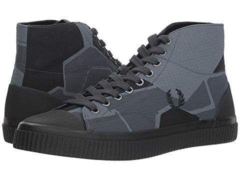 FRED PERRY スニーカー 【 PRINTED HUGHES MID AK AIRFORCE CAMO 】 メンズ 送料無料